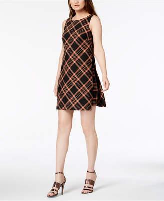 Trina Turk Brynne Plaid Shift Dress