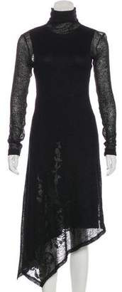 Plein Sud Jeanius Mohair Wool Dress