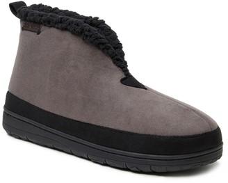 Dearfoams Men's Microsuede Mudguard Boot Slippers