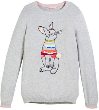 Joules Meryl Sequin Bunny Sweater, Size 3-12