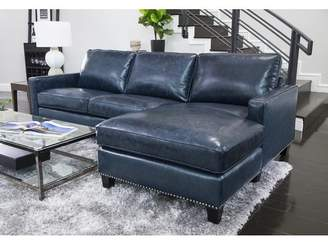 Co Darby Home Samatha Leather Sectional