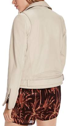 Scotch & Soda Maison Scotch Leather Moto Jacket