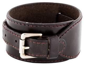 Louis Vuitton Leather Wrap Bracelet