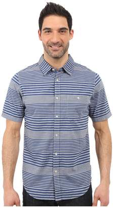 The North Face Short Sleeve Engine Stripe Shirt Men's Short Sleeve Button Up
