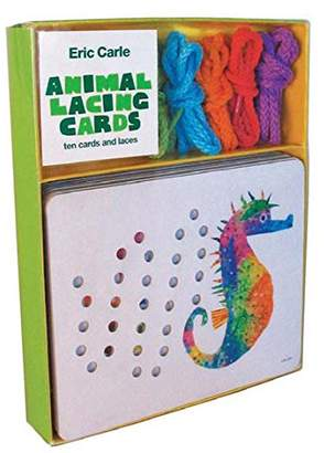 Chronicle Books Eric Carle Animal Lacing Cards: Ten Cards and Laces