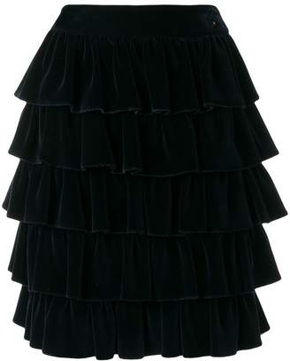909023c64 Chanel Pre-Owned 2001's ruffled skirt