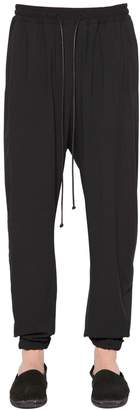 Isabel Benenato Fluid Cool Wool Comfort Pants