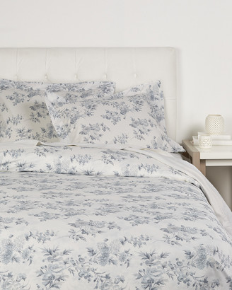 Whit & Alex Grey Floral Duvet Set