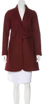 Sonia Rykiel Sonia by Wool Knee-Length Coat
