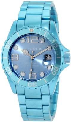 Haurex Italy Women's 7K374DB1 Ink Light Blue Aluminum Watch