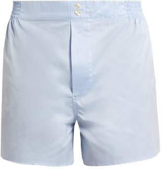 HAMILTON AND HARE Cotton boxer shorts