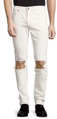 Saint Laurent Five-Pocket Cotton Jeans