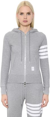 Intarsia Cotton Jersey Zip-Up Sweatshirt $690 thestylecure.com