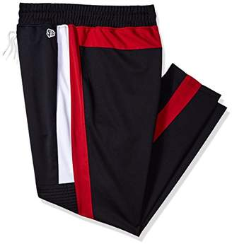 Southpole Big and Tall Men's Athletic Skinny Track Pants Open Bottom