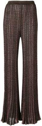 Missoni sheer palazzo trousers