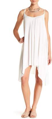 Elan International Spaghetti Strap Flair Cover-Up Dress