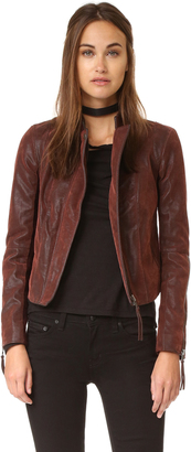 Free People Clean & Minimal Jacket $198 thestylecure.com
