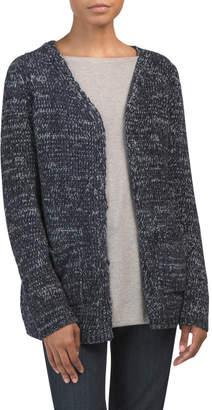 Cozy Front Pocket Long Cardigan