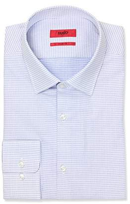 HUGO BOSS HUGO by Men's Sharp Fit Dress Shirt with Modified Point Collar