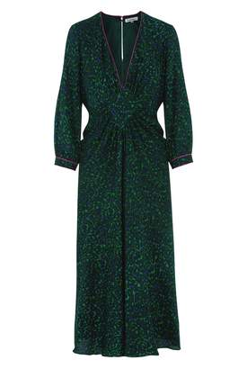 Libelula Jessie Dress Green and Blue Classy Leopard