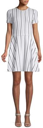 Opening Ceremony Women's Striped A-Line Dress