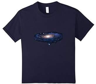 Space Nebula Galaxies T-Shirt Andromeda Galaxy Tee