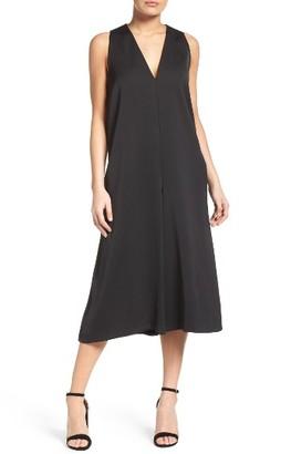 Women's French Connection Essien Crepe Culotte Jumpsuit $158 thestylecure.com