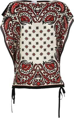 RED Valentino Bandana Print Blouse