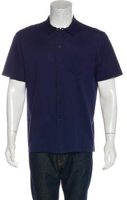 Lanvin Pique Button-Up Shirt