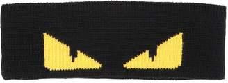 Fendi Monster Eyes Wool Jacquard Knit Headband