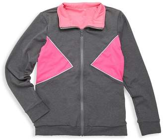 M.O.D. Girl's Zippered Pull-On Jacket
