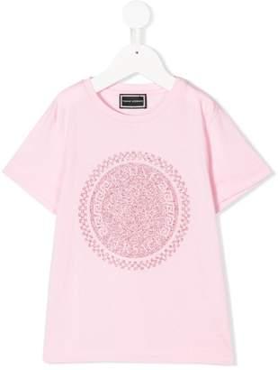 Versace glitter Medusa logo T-shirt