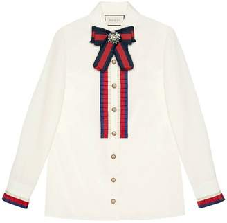 Gucci Cotton poplin shirt