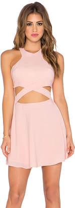 NBD x Naven Twins Chromat Fit & Flare Dress