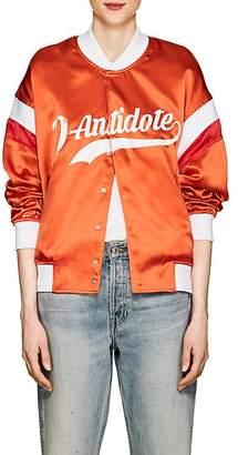 D-ANTIDOTE Women's Logo-Print Tech-Satin Jacket