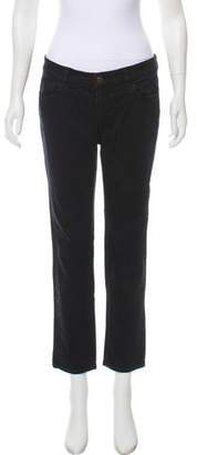 See by Chloe Low-Rise Straight-Leg Jeans