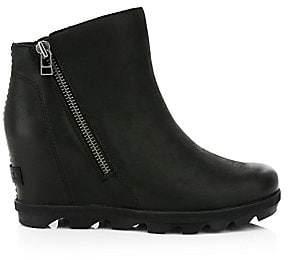 Sorel Women's Joan Wedge Zip Waterproof Boots