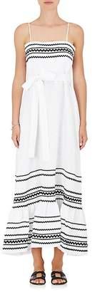 Lisa Marie Fernandez Women's Linen Maxi Dress