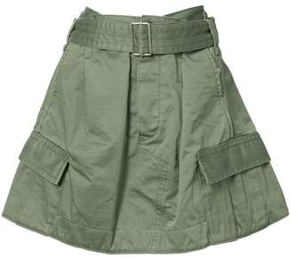 Marc Jacobs military skirt