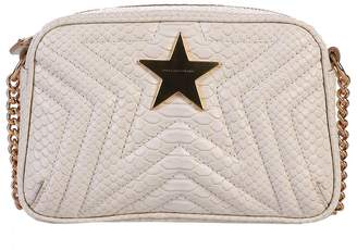 Stella McCartney Beige Quilted Cross Body Bag