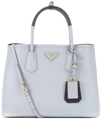 Prada Double saffiano leather tote