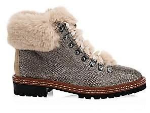 add468d59a28 Kate Spade Women s Rosalie Faux Fur Trimmed Boots