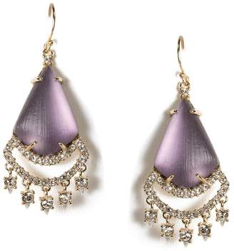 Alexis Bittar Crystal Chandelier Earrings