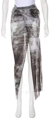 Helmut Lang Asymmetrical Draped Skirt