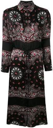 Amiri paisley print shirt dress