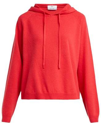 Allude Cashmere Hooded Sweater - Womens - Red