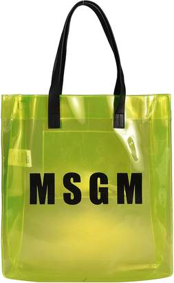 MSGM Logo Shopper Bag