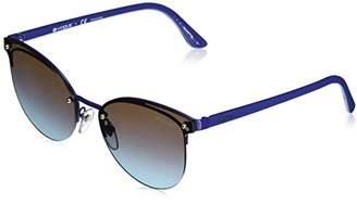 Vogue Women's Metal Woman Non-Polarized Iridium Cateye Sunglasses