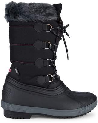 Pajar Olga Faux Fur-Trim Snow Boots
