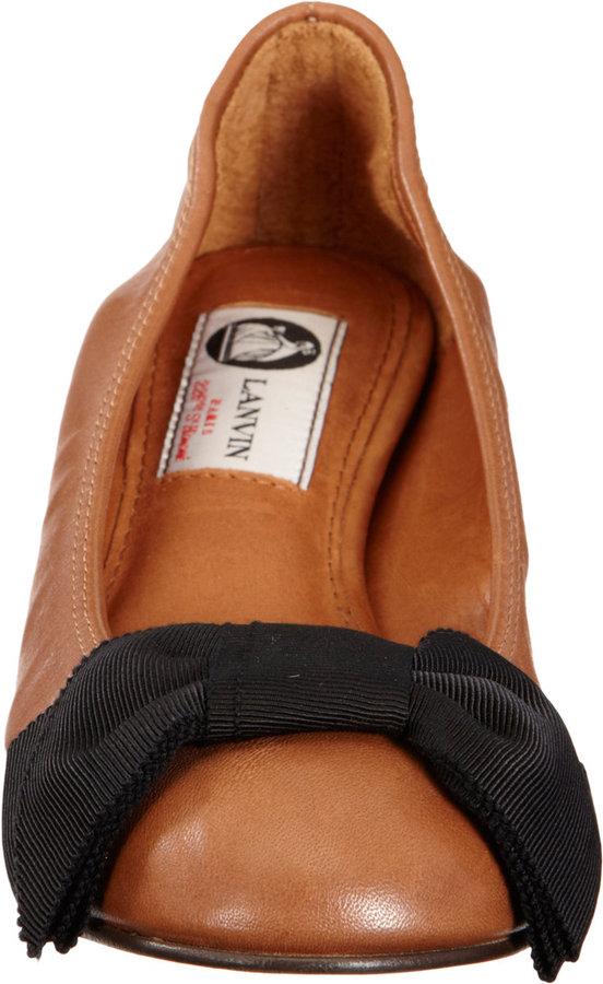 Lanvin Bow Ballet Flat